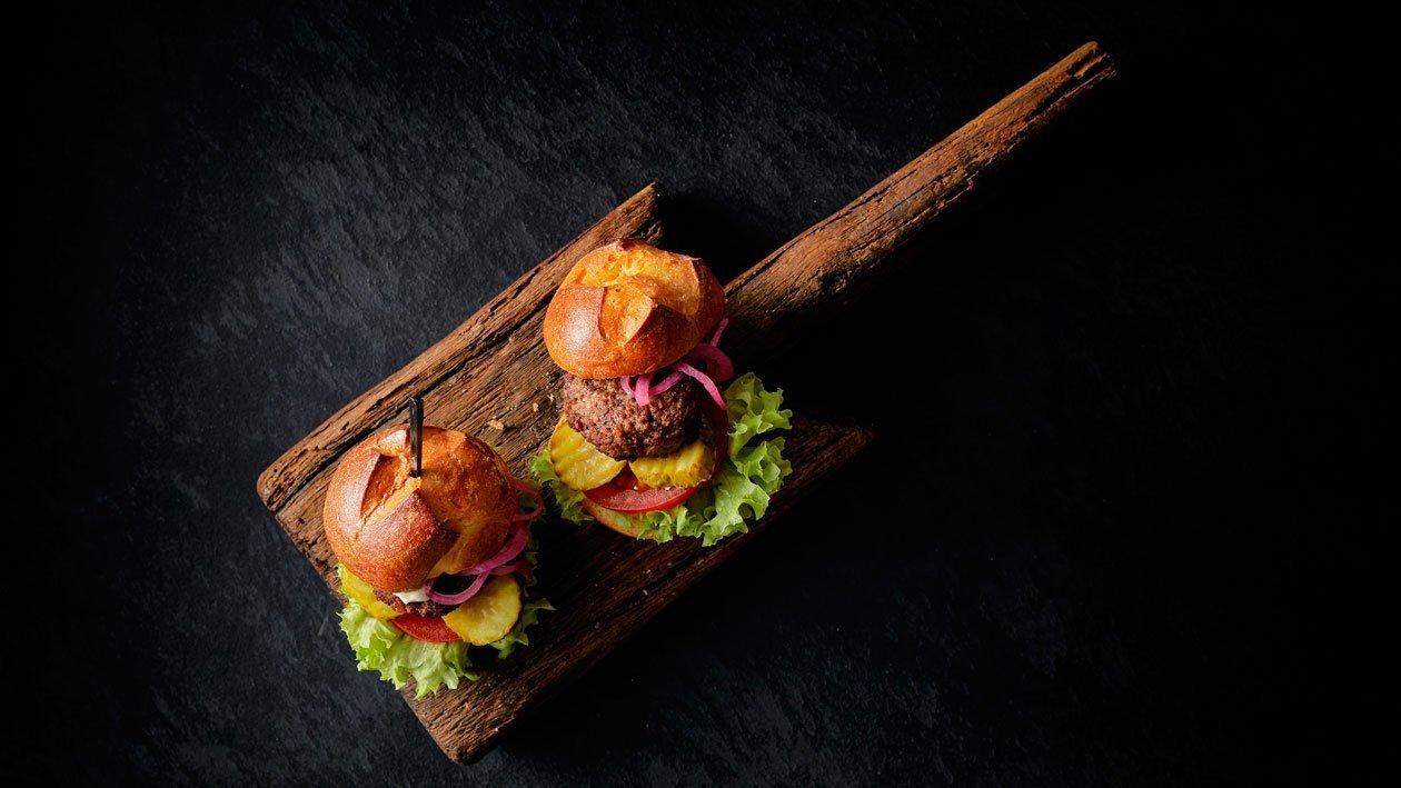 Mini Wagyu burger