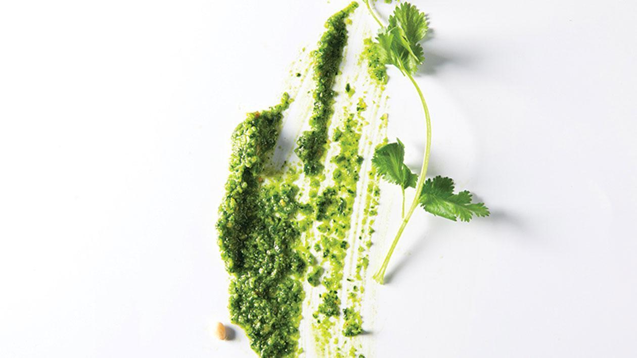 Pesto van koriander