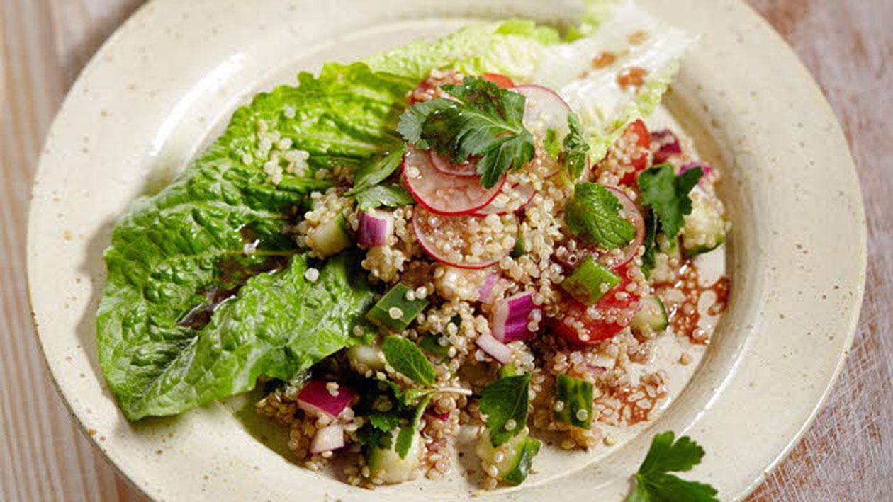 Quinoasalade met groenten