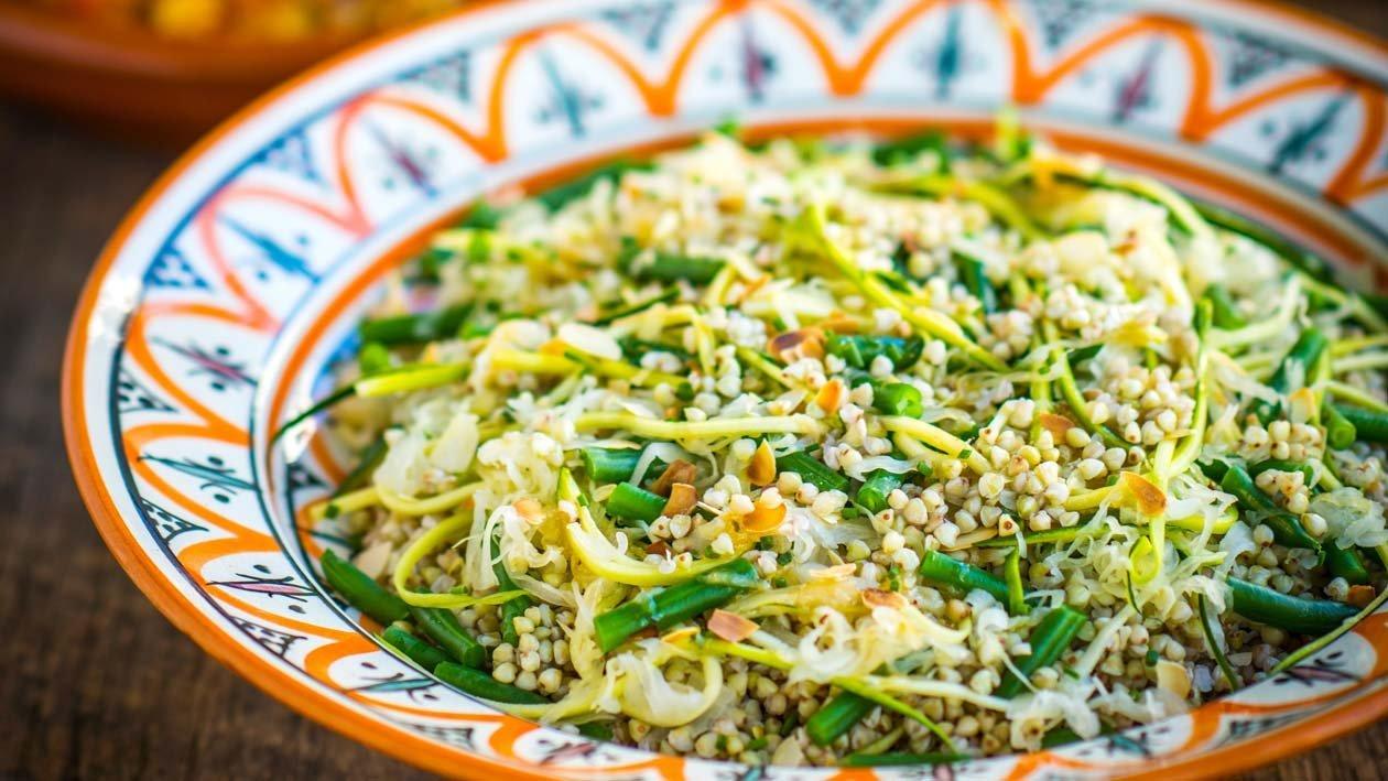 Salade van Boekweit met Choucroute