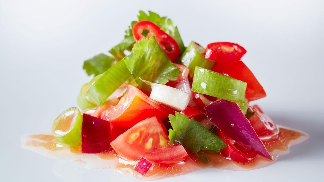 """Tomaten salsa """"pico de gallo"""" (basisrecept)"""