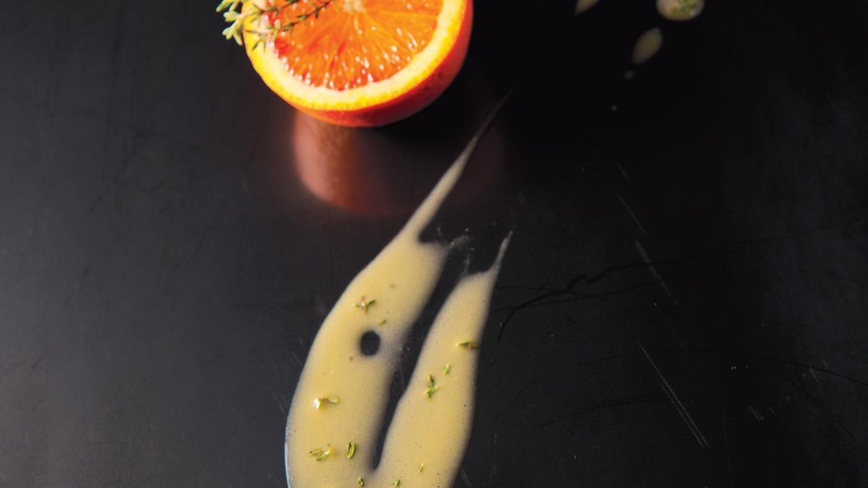 Vinaigrette van citrusvruchten