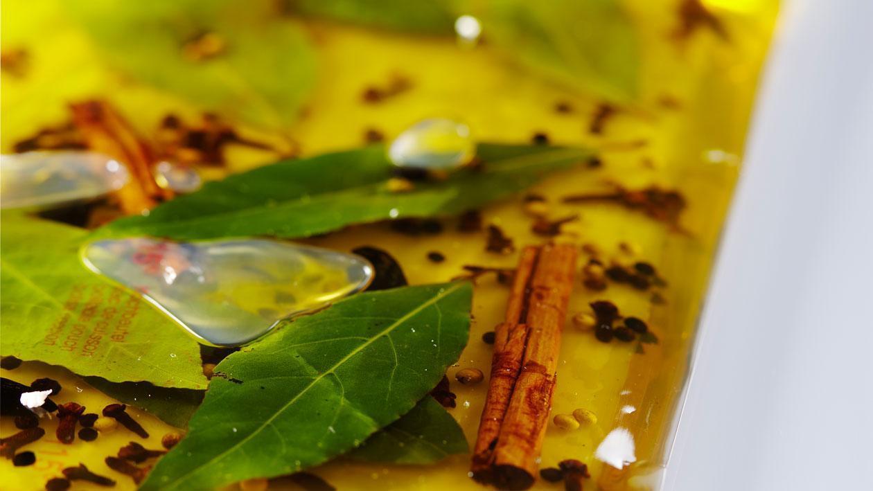 Vinaigrette van VOC-specerijen en Tosa dashi-azijn
