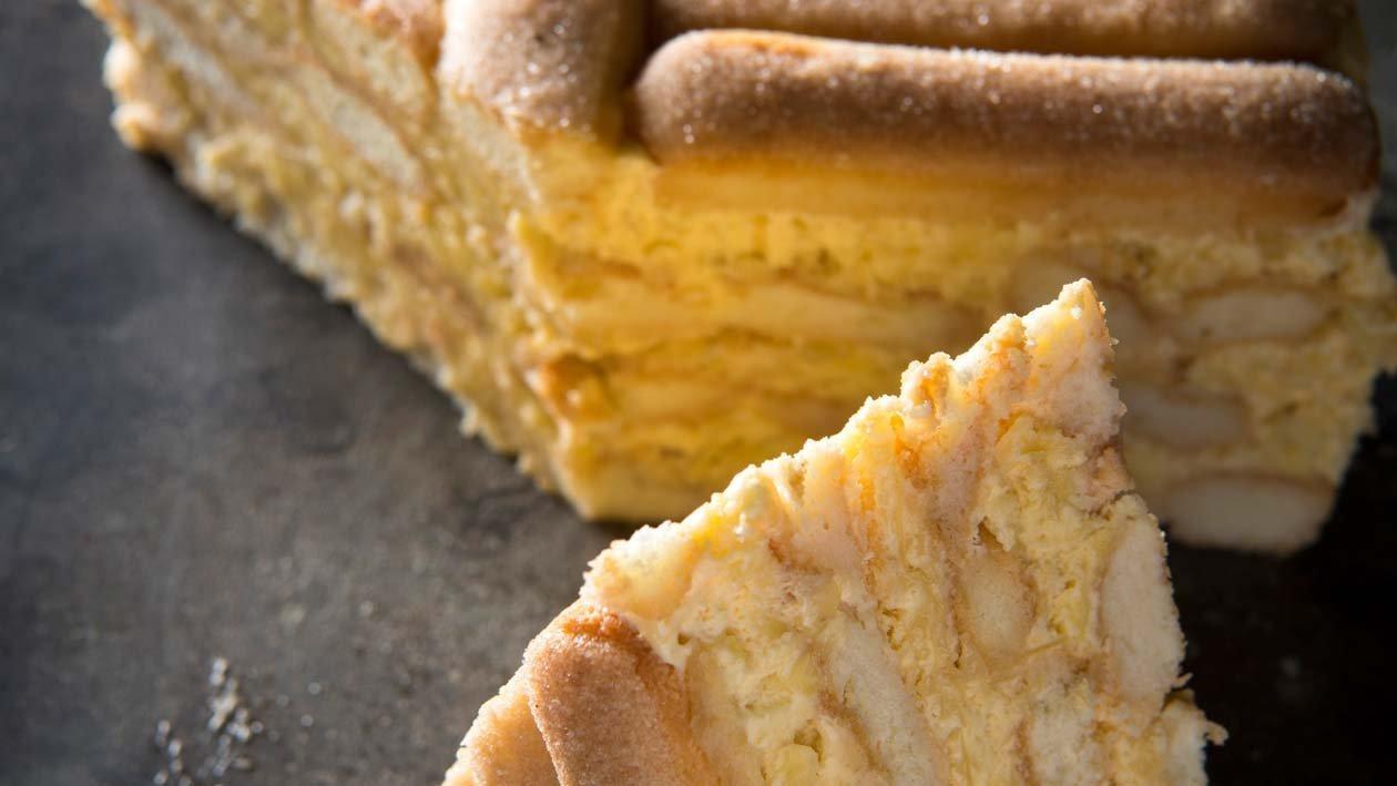 Zoete taart-sensatie