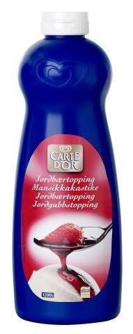 Carte d'Or Jordbær topping 1kg