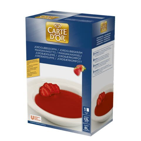 Carte d'Or Jordbærsuppe/kompott 12L -