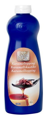Carte d'Or Karamell topping 1kg -