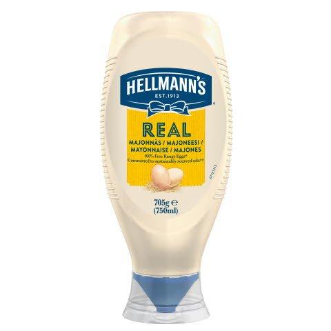 Hellmann's Real Majones 750ml Squeeze -