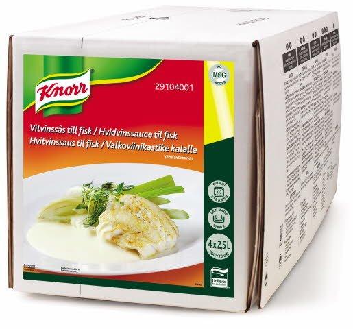 Knorr 100% Hvitvinsaus 2,5L - delistet!