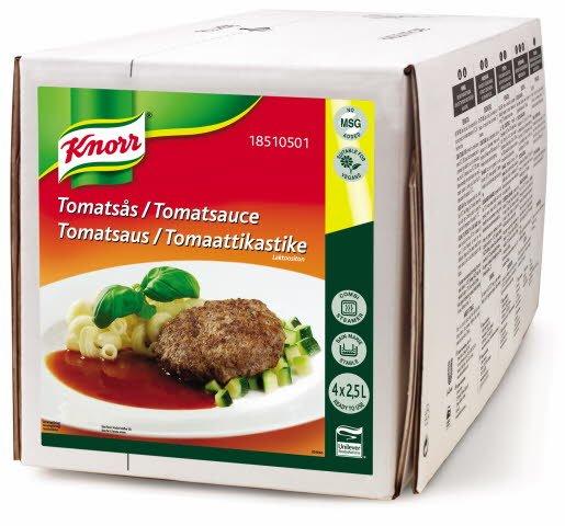 Knorr 100% Tomatsaus 2,5L