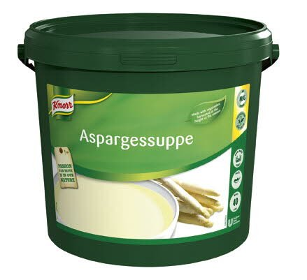 Knorr Aspargessuppe pasta 40L