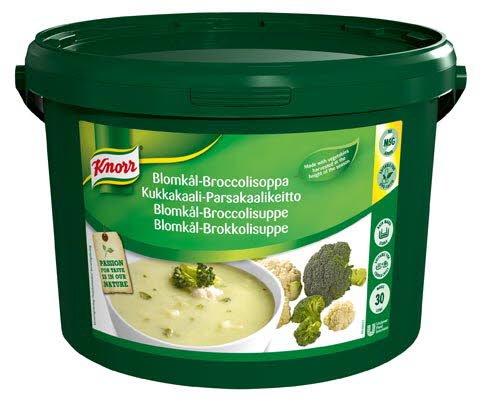 Knorr Blomkål og Brokkolisuppe 30L