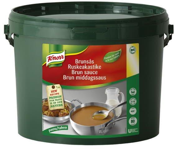 Knorr Brun Middagssaus 80L