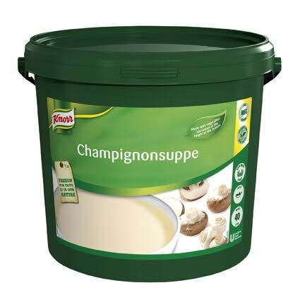 Knorr Champignonsuppe pasta 40L
