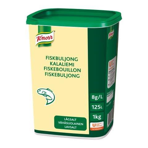 Knorr Fiskebuljong lavsalt 1kg (nytt innhold uke 46/2018)