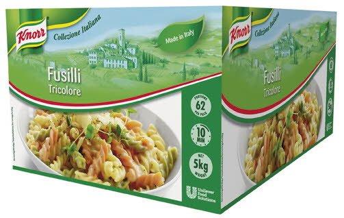Knorr Fusilli Tricolore 3kg