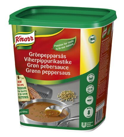 Knorr Grønn Peppersaus 8L -