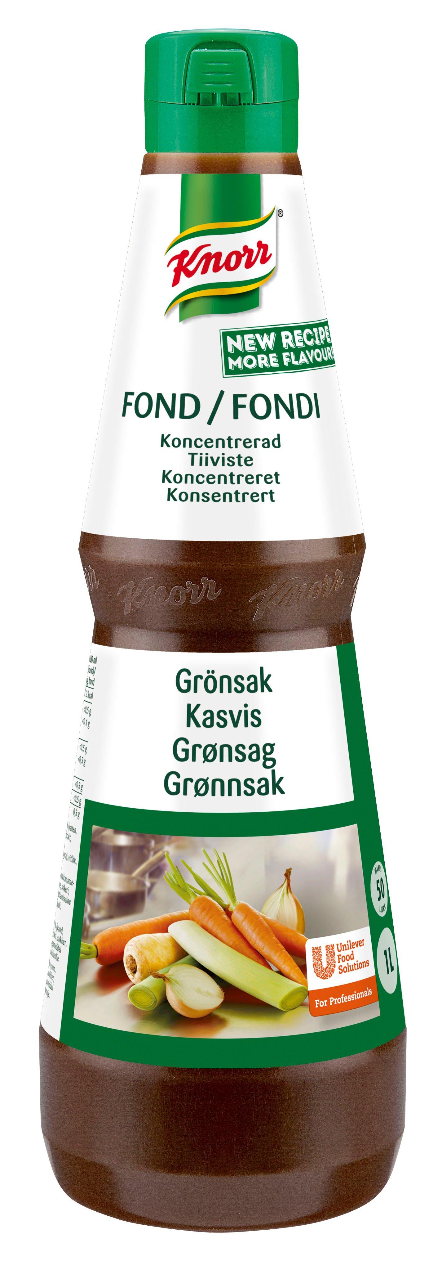Knorr Grønnsaksfond konsentrat 50L