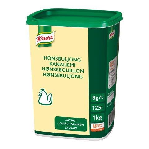 Knorr Hønsebuljong Lavsalt 125L -