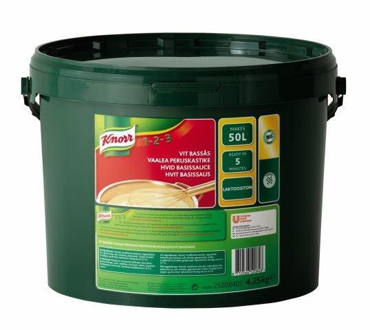 Knorr Hvit basissaus uten melk 50L
