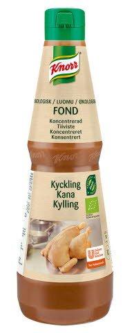 Knorr Økologisk Kyllingfond konsentrat 50L