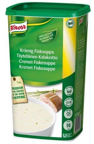 Knorr Kremet Fiskesuppe 10L