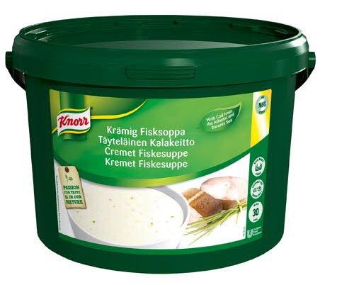 Knorr Kremet Fiskesuppe 30L