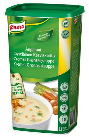 Knorr Kremet Grønnsakssuppe 10L