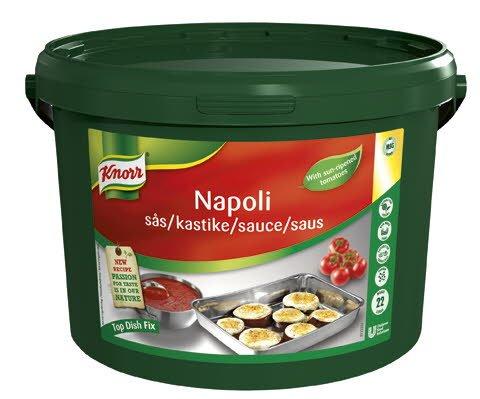 KNORR Napoli Tomatsaus 1 x 3,8 kg / 22 L