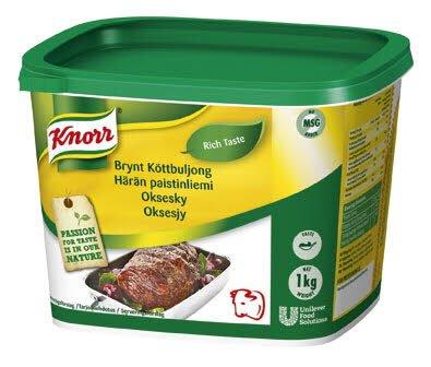 Knorr Oksesjy pasta 40L