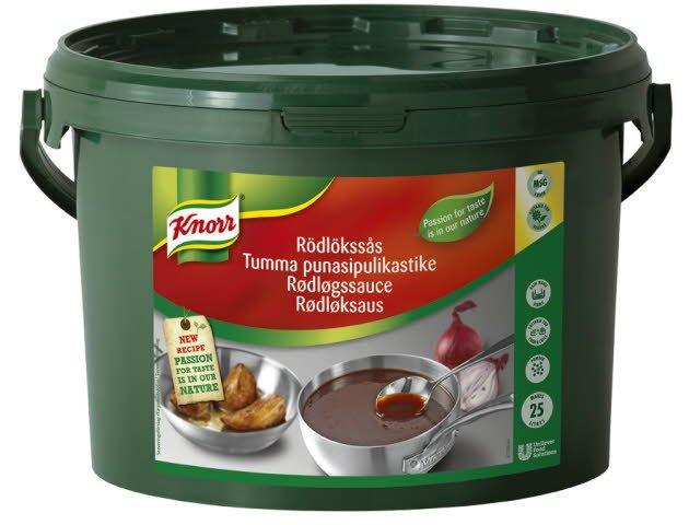 Knorr Rødløksaus 25L