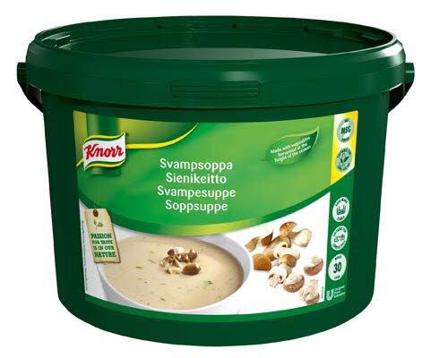 Knorr Skogsoppsuppe 30L