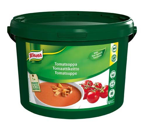 Knorr Tomatsuppe 40L
