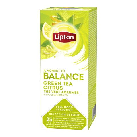Lipton Green Citrus 25ps