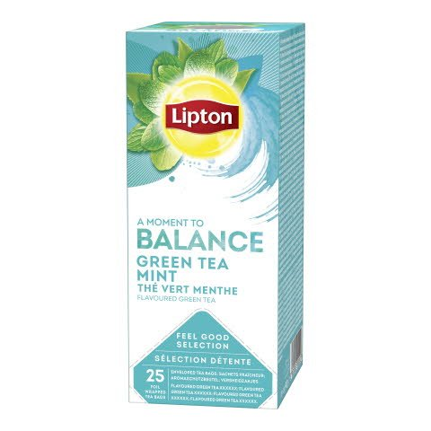 Lipton Green Mint 25ps