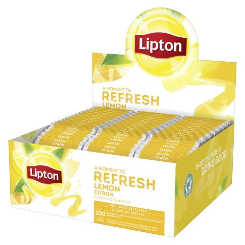 Lipton Lemon te 100ps -