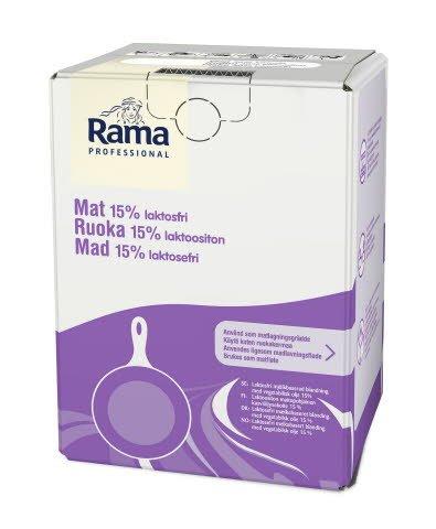 Rama Professional Mat 15% Laktosefri BiB 10L -