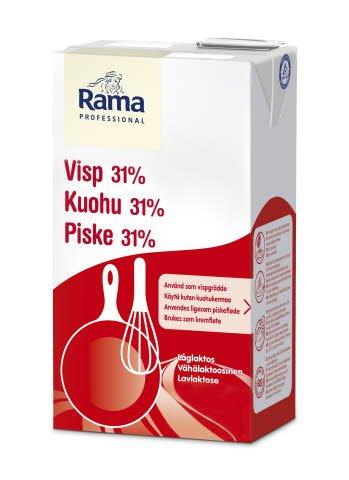 Rama Professional Piske 31% Lavlaktose 1L -