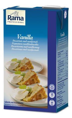 Rama Professional Vaniljesaus serveringsklar 1L -