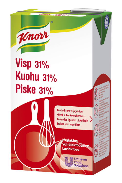Knorr Piske 31% Lavlaktose 1L