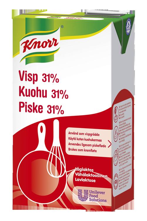 Knorr Piske 31% Lavlaktose 1L (erst. av EPD: 5363601)