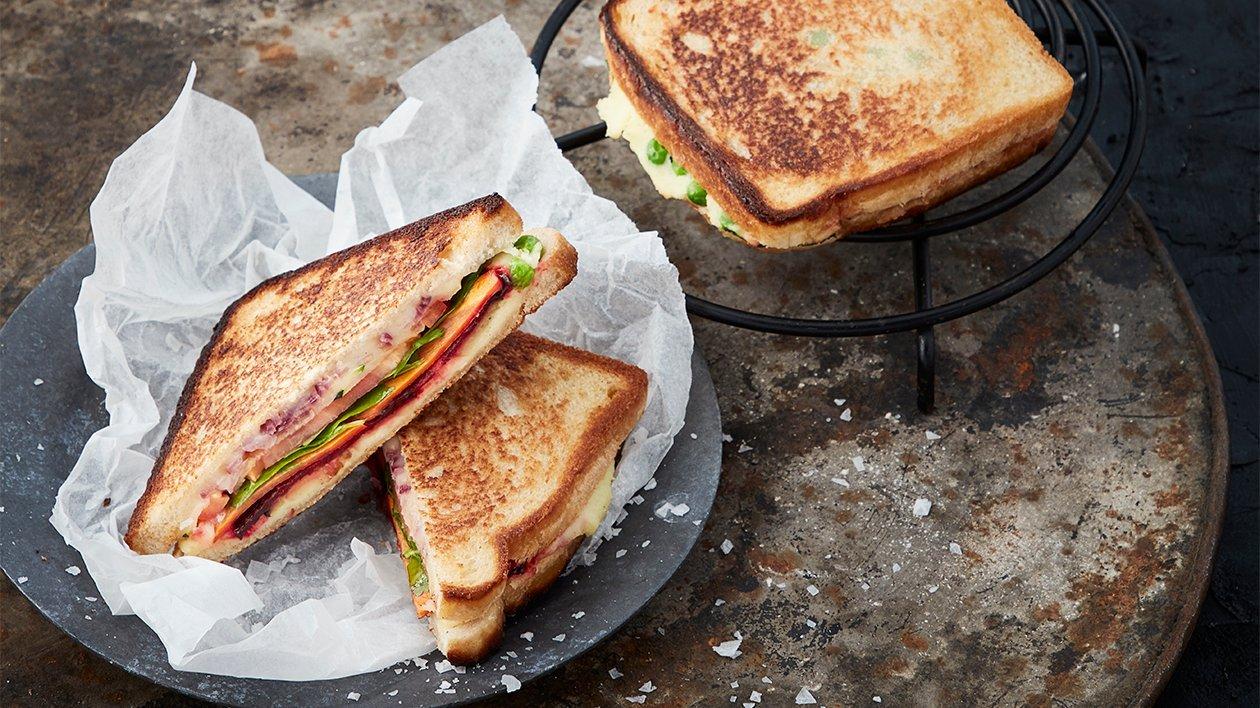 Bombay Masala toast – Oppskrift