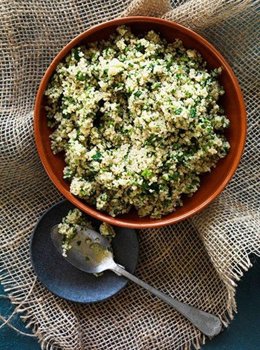 Couscous med urter  – Oppskrift