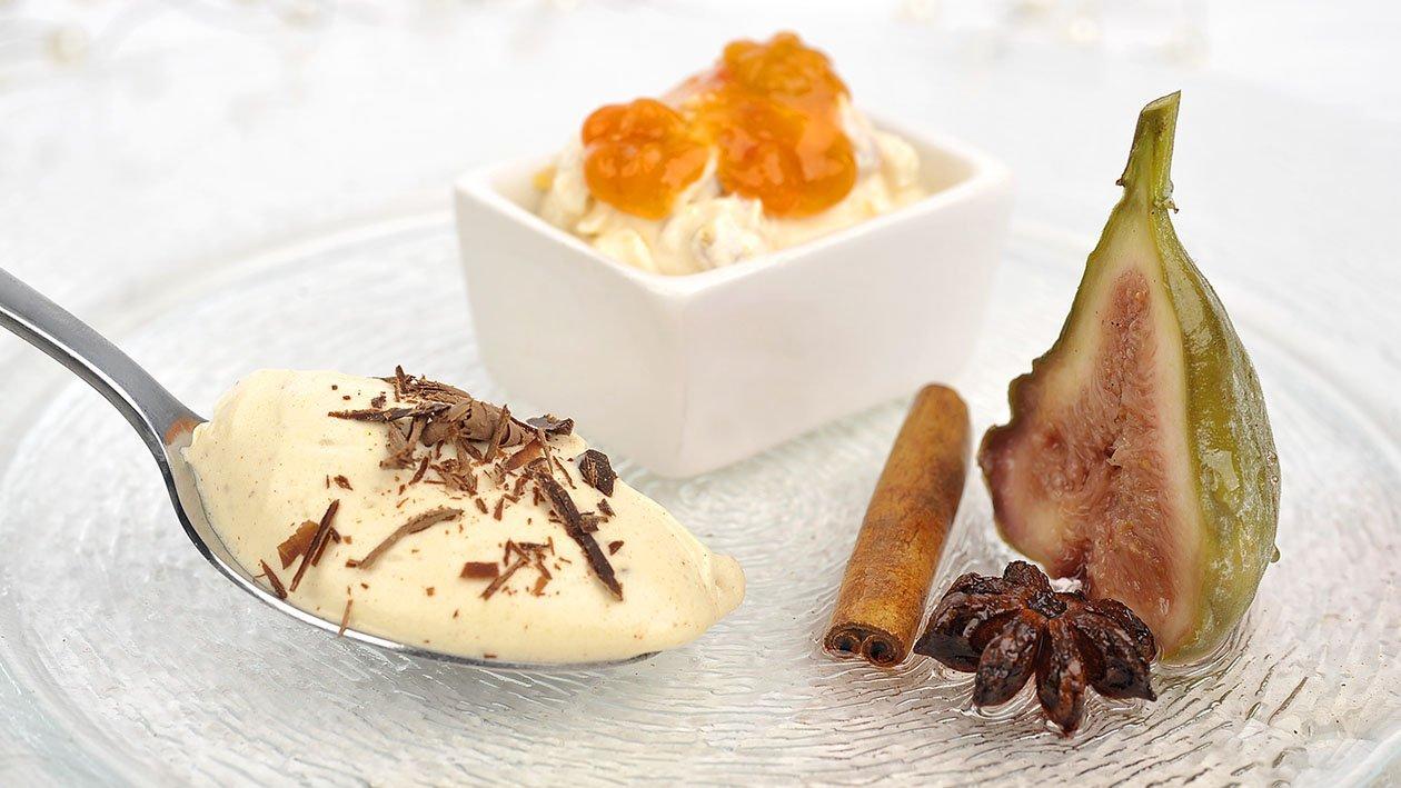 Juletrio med Rooibosfiken, multekrem og hvit sjokolademousse – Oppskrift
