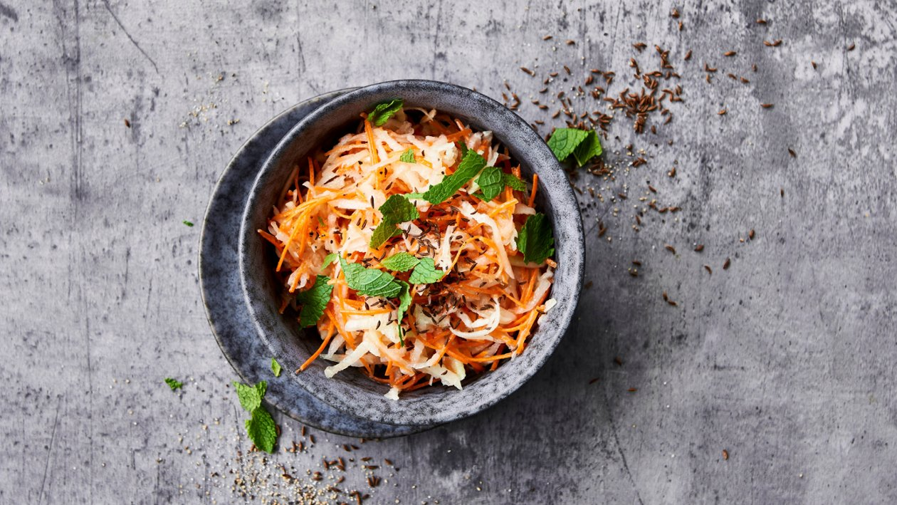 Kålrabi og gulrot med spisskummen – Oppskrift