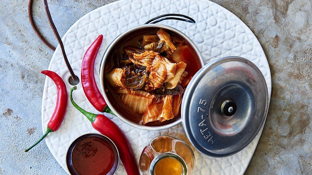 Kimchi – Oppskrift
