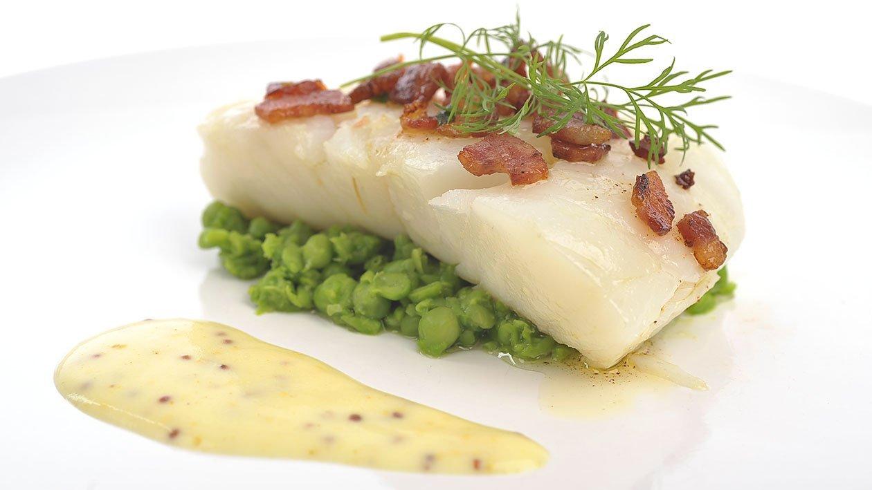 Lutefisk med varm sennepsaus – Oppskrift