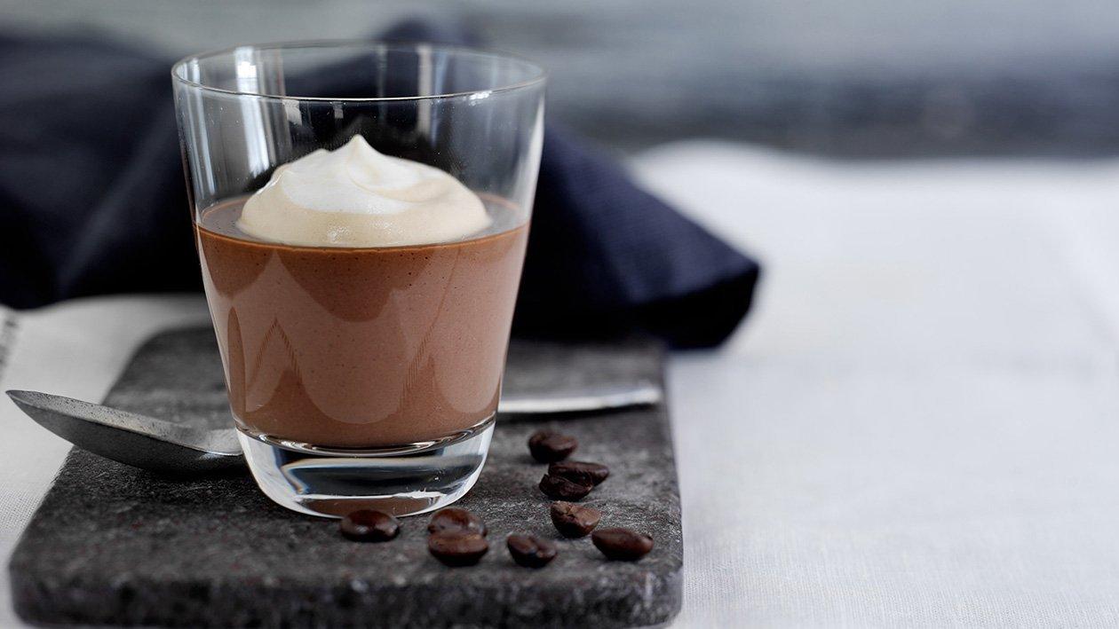 Mokka- og sjokoladepudding – Oppskrift
