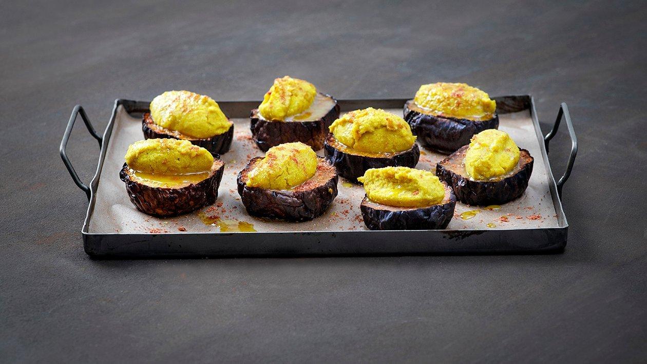 Stekt kålrot med kikertcurry – Oppskrift