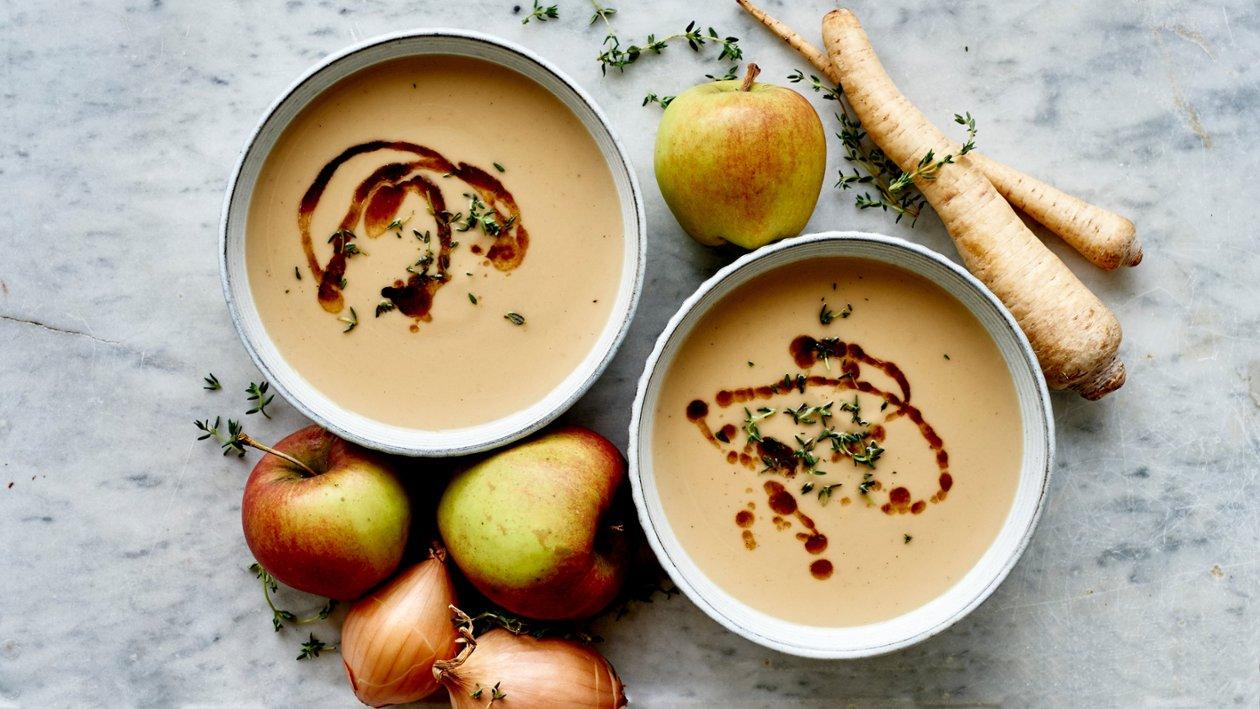 Suppe med ristet pastinakk og eple 🌍🌍🌍 – Oppskrift